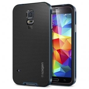Spigen Case Neo Hybrid Samsung Galaxy S5 (metal slate) SGP10774