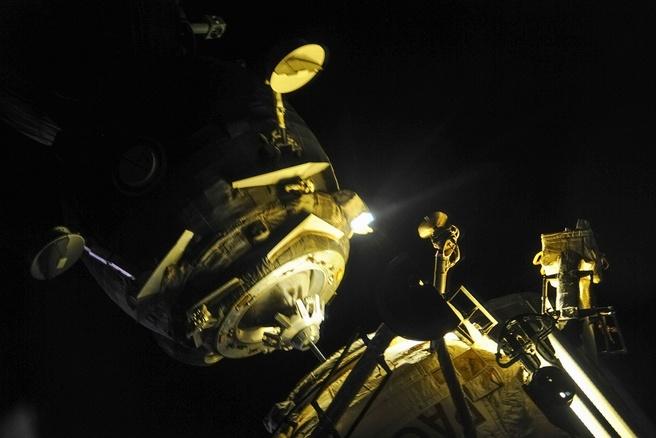 Soyuz docking