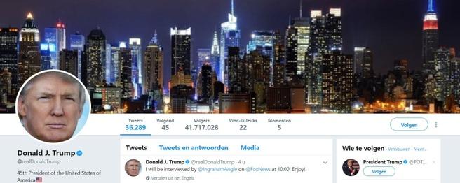 Twitter-account Trump