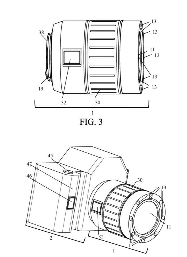 Canon patent vingerafdruksensor