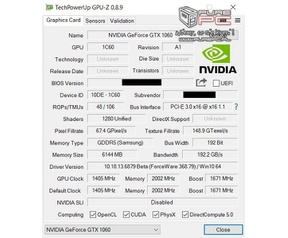 Nvidia GeForce GTX 1070 1060 laptop