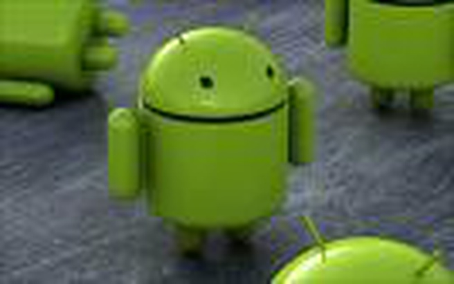 Android logo in real life