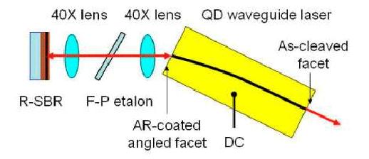 QD dark laser