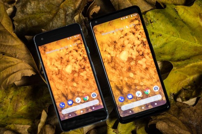 Google Pixel 2 XL en Pixel 2