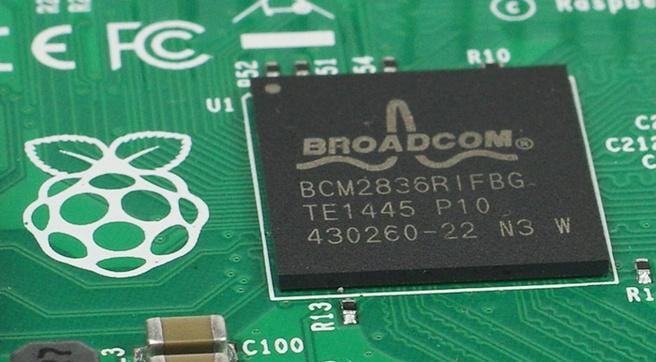 Broadcom Pi-chip