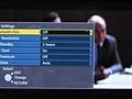 Panasonic G20 menu