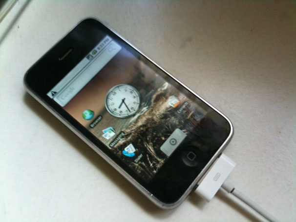 Android op iPhone 3G