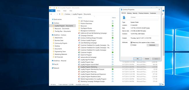 Windows 10 OneDrive Files On-Demand