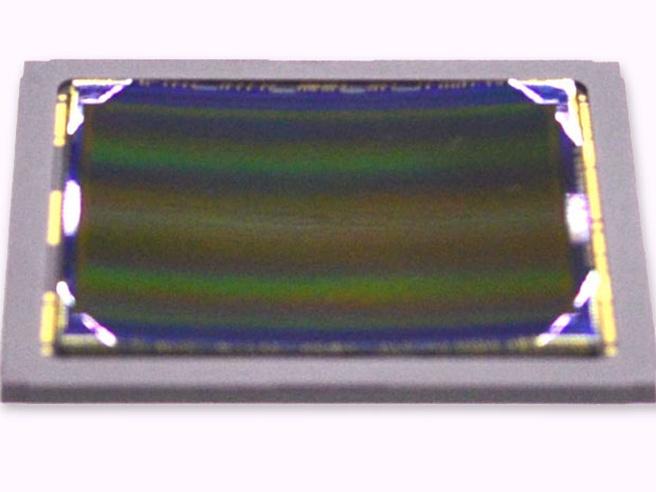 Sony gekromde cmos-sensor