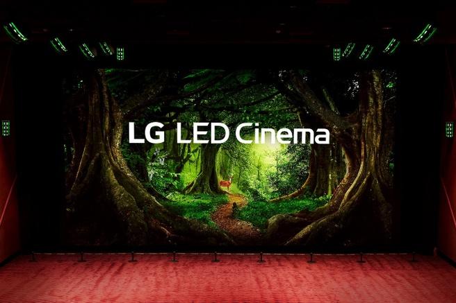 LG Led cinema