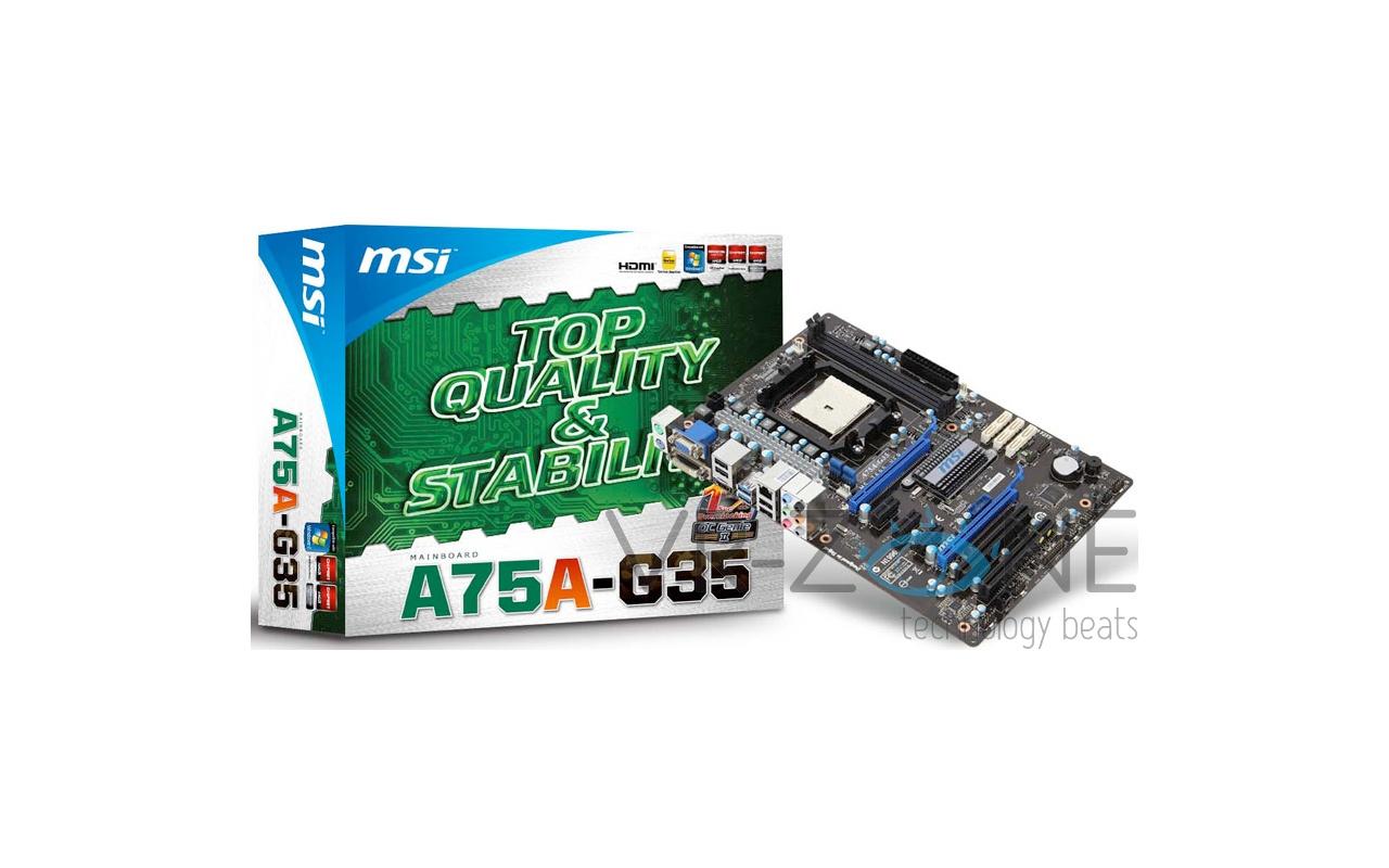 MSI A75A-G35