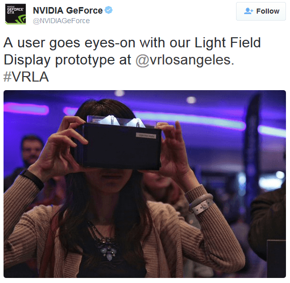 nvidia lightfield