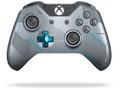 Goedkoopste Microsoft Xbox One Wireless Controller (V2) - Halo 5 Limited Edition Blauw, Zilver