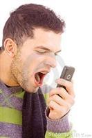 Schreeuw telefoon