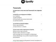 Spotify pre-save data