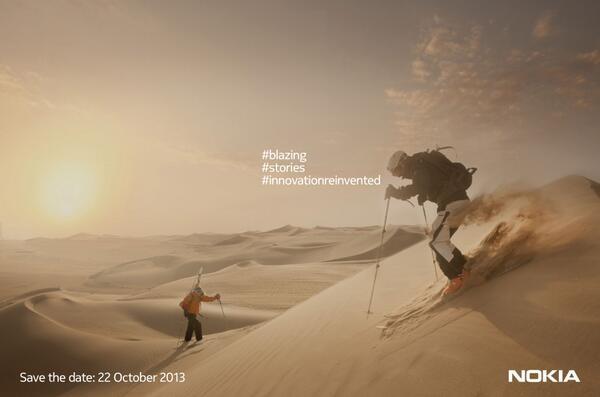 Nokia-uitnodiging 22 oktober