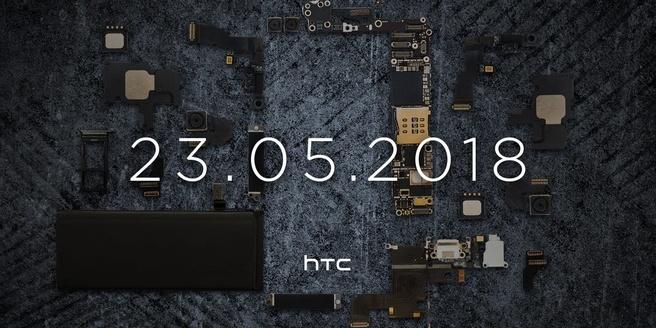 Teaser HTC 23 mei 2018