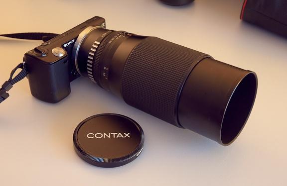 Sony NEX-5 + Zeiss 200mm 576px