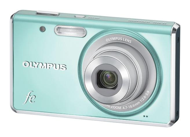 Olympus FE-4040 Blauw