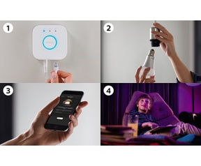 Philips Hue White and Color Ambiance Starterkit E27