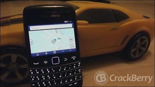BlackBerry Navigator