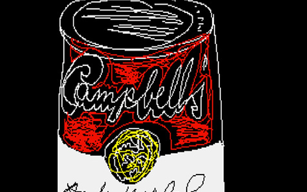 Amiga-kunstwerken van Andy Warhol