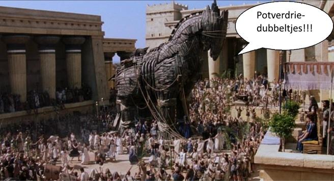 Scheldend trojaans paard trojan
