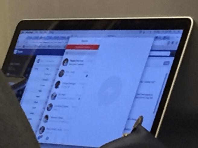 Facebook Messenger voor OS X