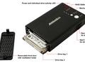 Portable Dual Drive raid enclosure van Addonics Technologies