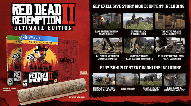 Red Dead Redemption 2 - Ultimate Edition, PlayStation 4