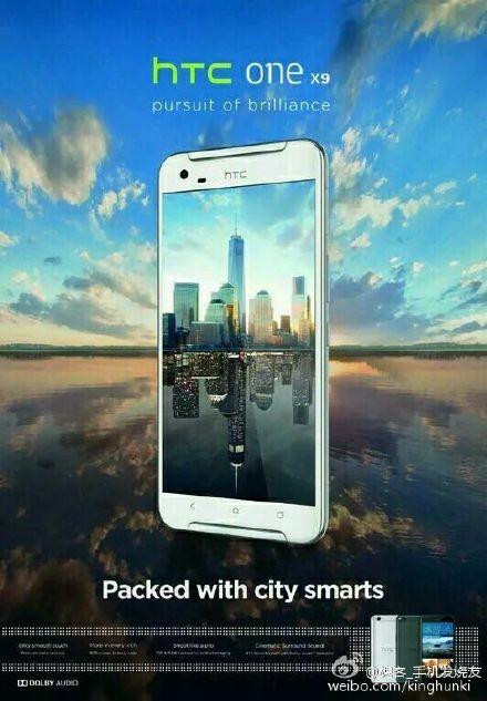 HTC One X9 lek