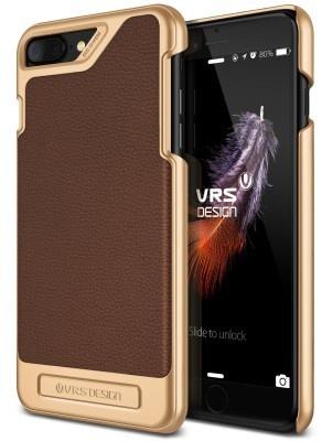 VRS Design Simpli Mod Apple iPhone 7 Plus case - Brown
