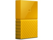 WD My Passport 4TB Geel
