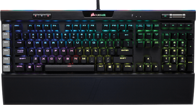 Corsair Gaming K95 RGB Platinum Cherry MX Speed Black (Qwerty US)