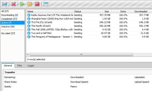 μTorrent - Webinterface
