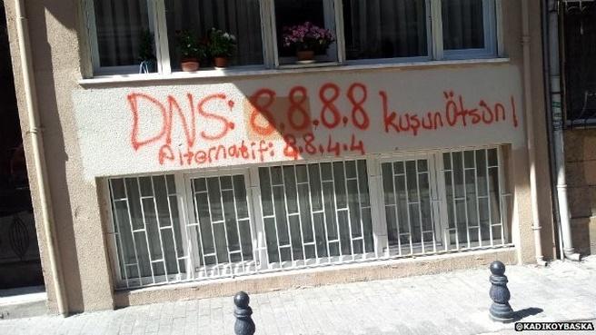 Turkije Google dns