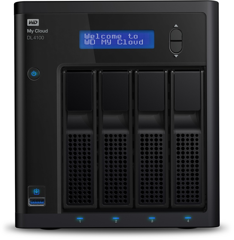 WD My Cloud DL4100 8TB - Specificaties - Tweakers