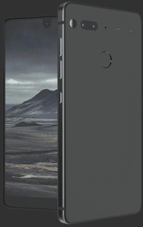 Essential Phone mat Zwart