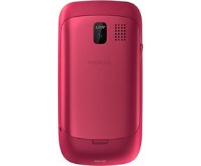 Nokia Asha 302 Rood
