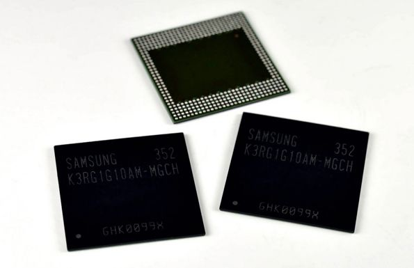 Samsung LPDDR4-geheugen