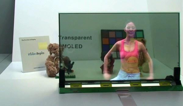 Samsung transparant amoled-scherm