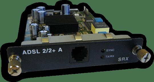 Juniper ADSL2+ Mini-PIM (analog / annex a / PSTN)