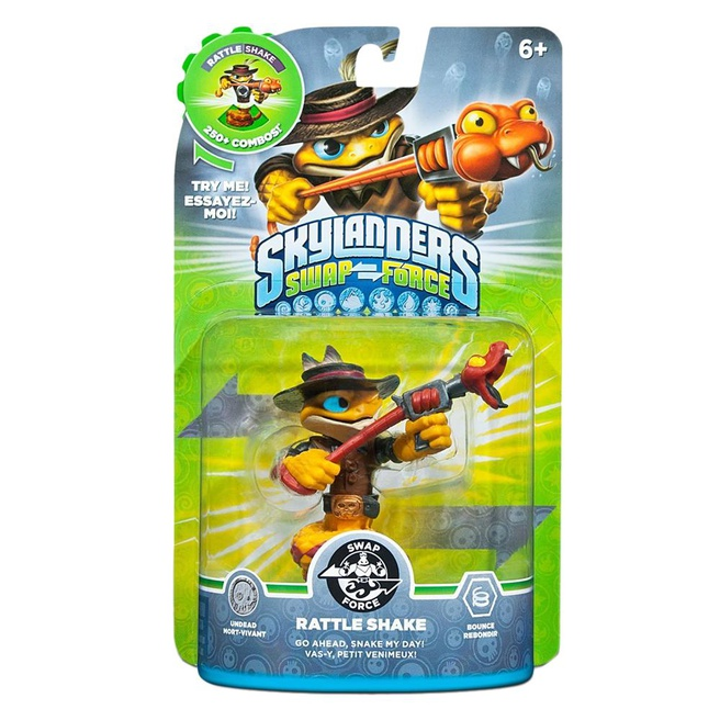 Skylanders Swap Force Rattle Shake, Nintendo 3DS, PlayStation 3, PlayStation 4, Wii, Wii U, Xbox 360, Xbox One
