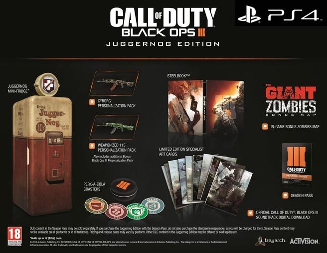 Call of Duty Black Ops III Juggernog Edition, PlayStation 4