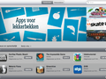 Nederlandse App Store iPad