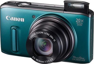 Canon PowerShots SX260 HS