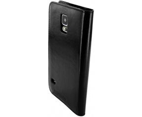 Mobiparts Excellent Wallet Case Samsung Galaxy S5/S5 Plus Jade Black