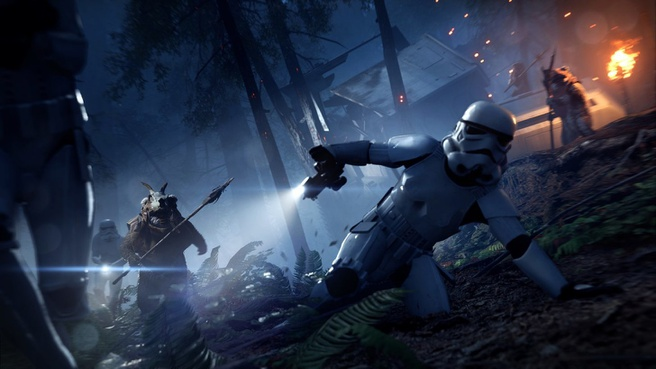 Star Wars Battlefront II - Night on Endor
