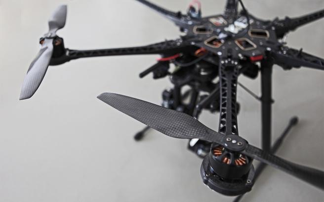 Drones met verlichting, project van If Light Could Fly