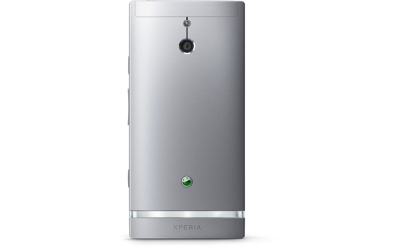 Sony Xperia P Zilver